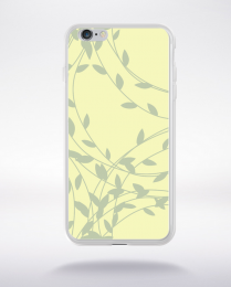 Coque floral pattern 4 compatible iphone 6 transparent