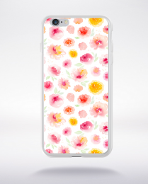 Coque watercolor love 3 m compatible iphone 6 transparent