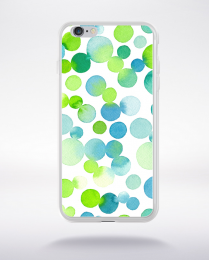 Coque watercolor love 9 l compatible iphone 6 transparent