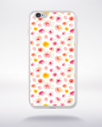 Coque watercolor love 3 s compatible iphone 6 transparent