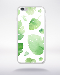 Coque watercolor love 8 l compatible iphone 6 transparent