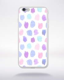 Coque watercolor love 13 l compatible iphone 6 transparent