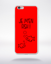 Coque j men fish 4 compatible iphone 6 transparent