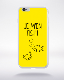 Coque j men fish 3 compatible iphone 6 transparent