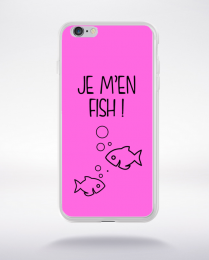 Coque j men fish 7 compatible iphone 6 transparent