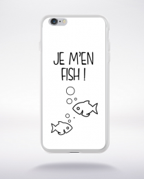 Coque j men fish 2 compatible iphone 6 transparent