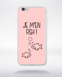 Coque j men fish 11 compatible iphone 6 transparent
