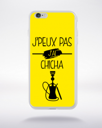 Coque j peux pas j ai chicha 1 compatible iphone 6 transparent