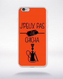 Coque j peux pas j ai chicha 6 compatible iphone 6 transparent