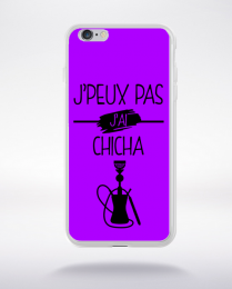 Coque j peux pas j ai chicha 3 compatible iphone 6 transparent