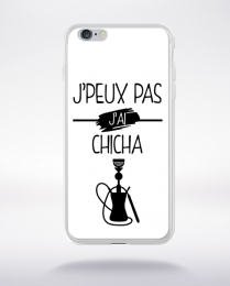 Coque j peux pas j ai chicha 11 compatible iphone 6 transparent