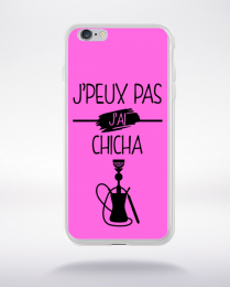 Coque j peux pas j ai chicha 5 compatible iphone 6 transparent