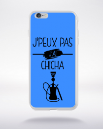 Coque j peux pas j ai chicha 8 compatible iphone 6 transparent