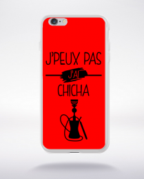 Coque j peux pas j ai chicha 2 compatible iphone 6 transparent