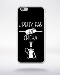 Coque j peux pas j ai chicha 10 compatible iphone 6 transparent
