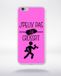 Coque j peux pas j ai crossfit 7 compatible iphone 6 transparent