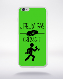 Coque j peux pas j ai crossfit 9 compatible iphone 6 transparent