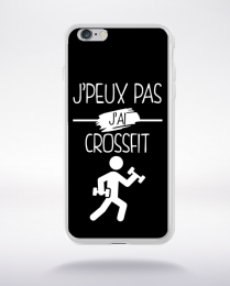 Coque j peux pas j ai crossfit 1 compatible iphone 6 transparent
