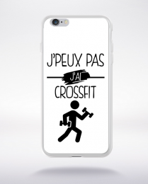 Coque j peux pas j ai crossfit 2 compatible iphone 6 transparent
