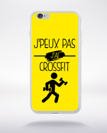 Coque j peux pas j ai crossfit 3 compatible iphone 6 transparent