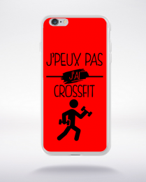 Coque j peux pas j ai crossfit 4 compatible iphone 6 transparent