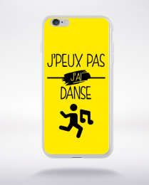 Coque j peux pas j ai danse 1 compatible iphone 6 transparent