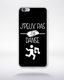 Coque j peux pas j ai danse 10 compatible iphone 6 transparent