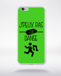 Coque j peux pas j ai danse 7 compatible iphone 6 transparent