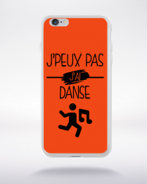 Coque j peux pas j ai danse 6 compatible iphone 6 transparent
