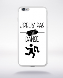Coque j peux pas j ai danse 11 compatible iphone 6 transparent
