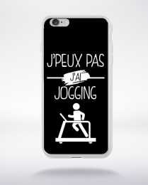 Coque j peux pas j ai jogging 1 compatible iphone 6 transparent
