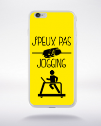 Coque j peux pas j ai jogging 3 compatible iphone 6 transparent
