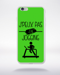 Coque j peux pas j ai jogging 9 compatible iphone 6 transparent