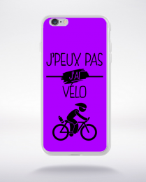 Coque j peux pas j ai velo 5 compatible iphone 6 transparent