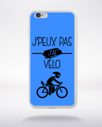 Coque j peux pas j ai velo 10 compatible iphone 6 transparent
