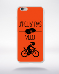 Coque j peux pas j ai velo 8 compatible iphone 6 transparent
