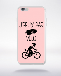 Coque j peux pas j ai velo 11 compatible iphone 6 transparent
