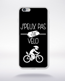 Coque j peux pas j ai velo 1 compatible iphone 6 transparent
