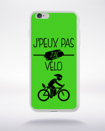 Coque j peux pas j ai velo 9 compatible iphone 6 transparent