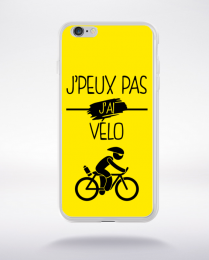 Coque j peux pas j ai velo 3 compatible iphone 6 transparent