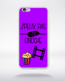 Coque j peux pas j ai cinoche 4 compatible iphone 6 transparent