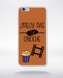 Coque j peux pas j ai cinoche 5 compatible iphone 6 transparent