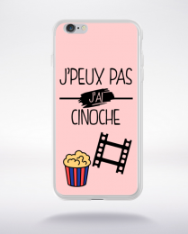 Coque j peux pas j ai cinoche 9 compatible iphone 6 transparent