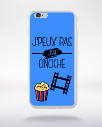 Coque j peux pas j ai cinoche 8 compatible iphone 6 transparent