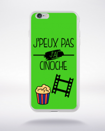 Coque j peux pas j ai cinoche 7 compatible iphone 6 transparent