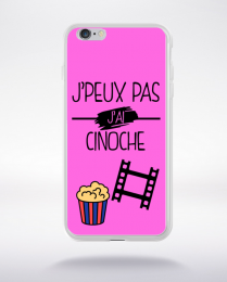 Coque j peux pas j ai cinoche 6 compatible iphone 6 transparent