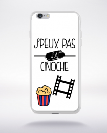 Coque j peux pas j ai cinoche 10 compatible iphone 6 transparent