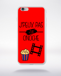 Coque j peux pas j ai cinoche 3 compatible iphone 6 transparent