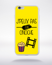 Coque j peux pas j ai cinoche 2 compatible iphone 6 transparent