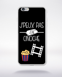 Coque j peux pas j ai cinoche 1 compatible iphone 6 transparent